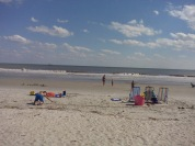 HILTON HEAD ISLAND, SC - A view of Coligny Beach.