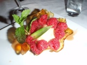 HILTON HEAD ISLAND, SC - Romauer wine and food pairing dinner at Aqua. We served Adult Peanut Butter and Jelly for dessert