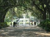 SAVANNAH, GA - Playing tourist. May 2012