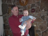 SHOREHAM, VT - Dave and Sarah. January 2003