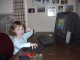 MIDDLEBURY, VT - Sarah rocks. October 2004